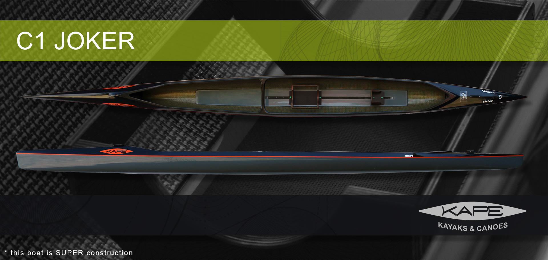 KAPE Canoes & Kayaks - C1 Joker