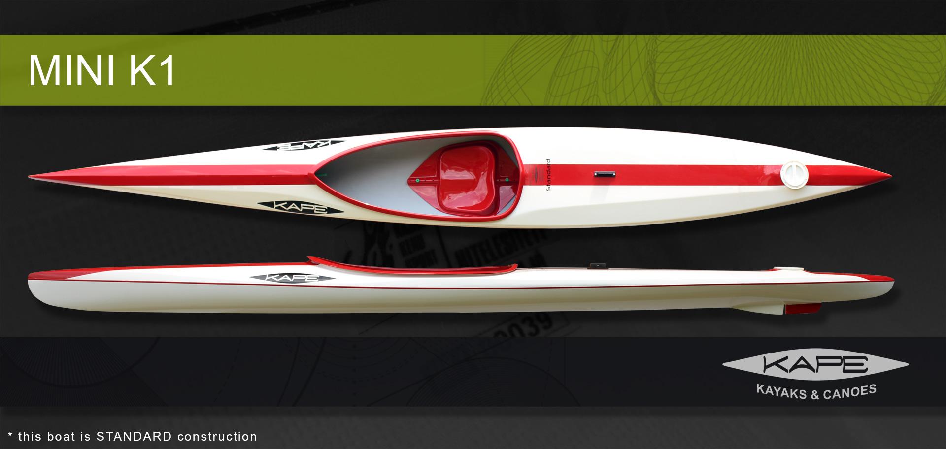 KAPE Canoes & Kayaks - Mini K1
